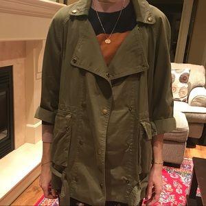 Current/Elliott Infantry Jacket size 0